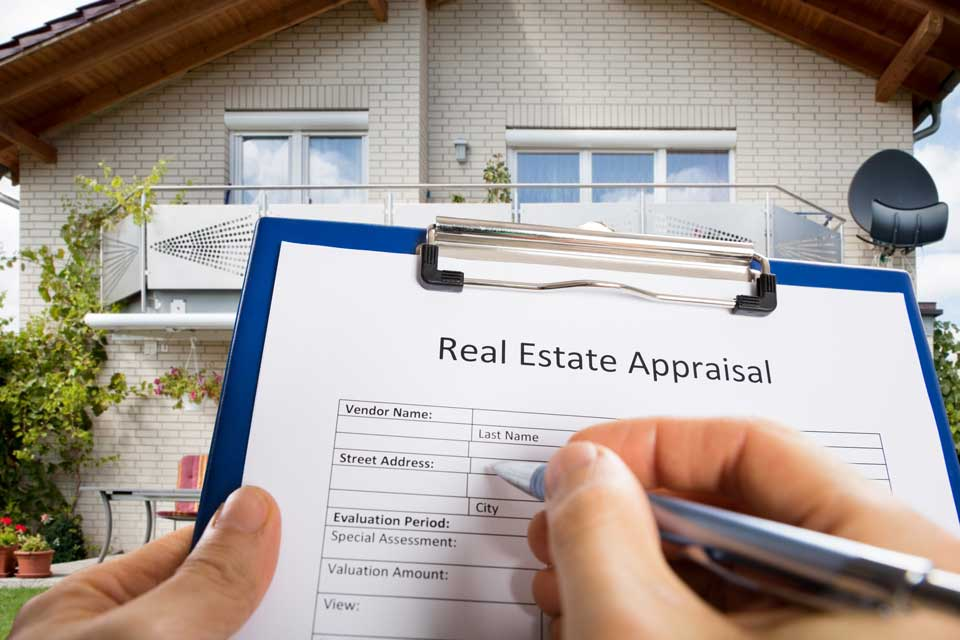 Real estate appraiser form